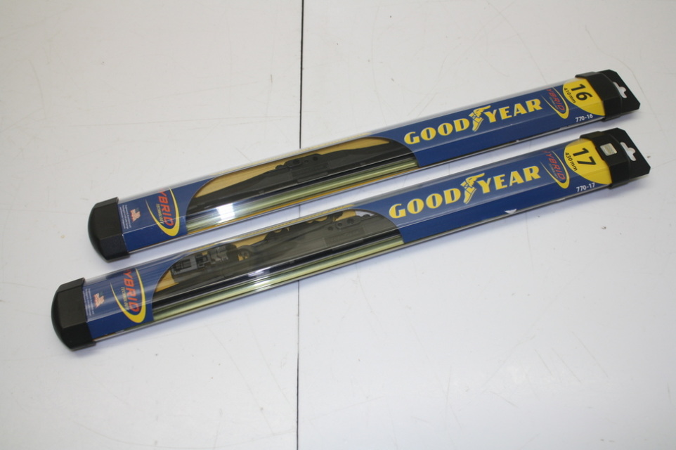 Goodyear Windshield Wipers >> Windshield Wiper Blades Goodyear Hybrid Technology 16 To 28 New