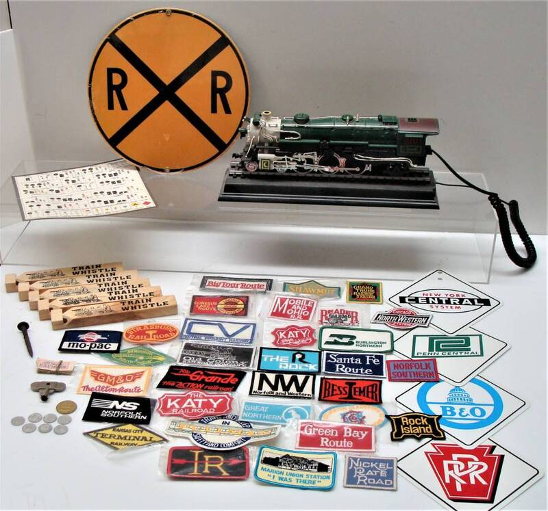 Railroad Collectibles and Signage